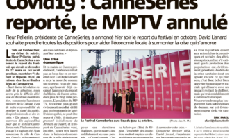Covid-19 : CANNESERIES reporté