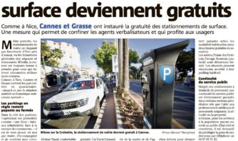 Coronavirus : le stationnement désormais gratuit à Cannes