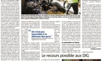 Lutter contre les inondations, un combat de longue haleine à Cannes