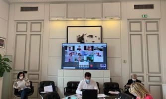 Covid-19 : réunion quotidienne de coordination des services municipaux