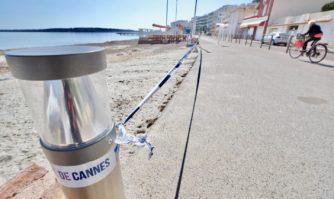 Coronavirus : Cannes ferme ses plages publiques