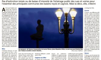 Couvre-feu : les communes éteignent leurs monuments
