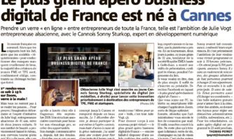 Véridique, le plus grand apéro business digital de France est bien né à Cannes