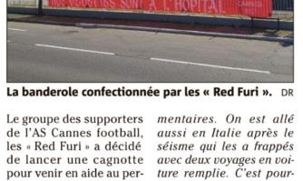"""À l'AS Cannes, les """"Red Furi"""" lancent une cagnotte"""