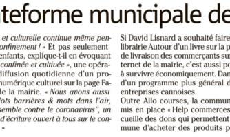 À Cannes, une librairie sur la plateforme municipale des commerçants