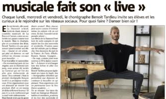 Cannes : l'école de comédie musicale fait son « live »