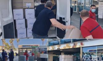 La Mairie de Cannes continue d'apporter son soutien aux personnels hospitaliers