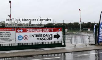 MMERCI : masques gratuits pour tous les Cannois