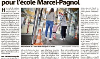 La sécurité sanitaire avant tout pour l'école Marcel-Pagnol