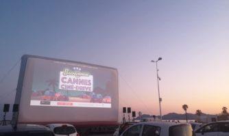 Cinéma grandeur nature et presque les pieds dans l'eau
