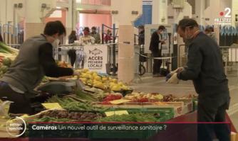 Une caméra pour évaluer le port du masque des habitants de Cannes