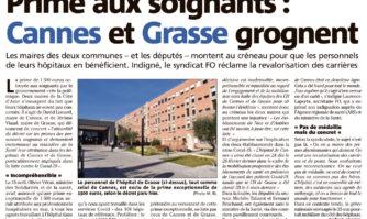 Prime aux soignants : Cannes et Grasse grognent