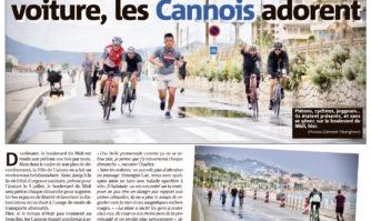 Le boulevard du Midi sans voiture, les Cannois adorent