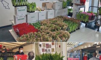 #HelpCommerces : Près de 5 000 brins de muguets des fleuristes cannois offerts aux EHPAD et soignants de l'hôpital