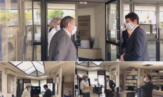 La Mairie de Cannes a livré des masques MMERCI et chirurgicaux aux services de la Douane de Cannes