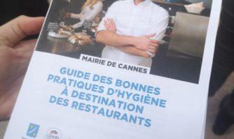 #CannesRepart : l'hygiène priorité de la réouverture des restaurants