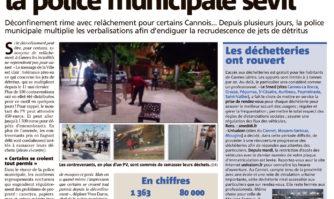Jets de détritus dans la rue : la police municipale sévit