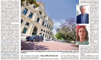 David Lisnard adapte l'organisation de la Mairie à la concrétisation de son projet de mandat