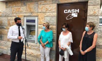 Proximité : les habitants de l'avenue de Grasse ont leur distributeur de billets automatique