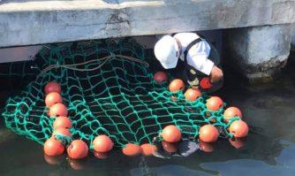 Cannes expérimente un filet micro-filtrant pour réduire la pollution en mer