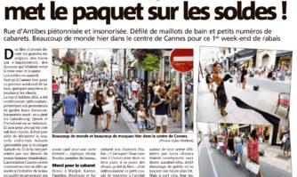 Sales and the city : Cannes met le paquet sur les soldes !