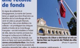 Aide au Liban : Cannes lance une récolte de fonds
