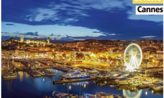 Panorama : Cannes by night
