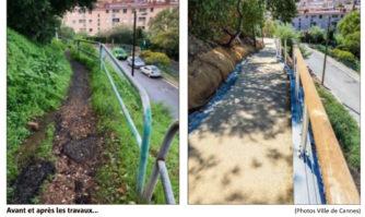 Font de Veyre : un chemin piétonnier rénové et sécurisé