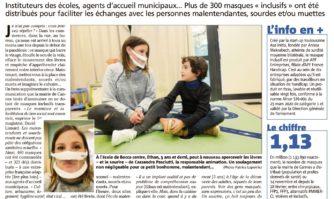 Masques : communiquer en toute transparence...