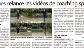 Cannes relance les vidéos de coaching sportif