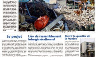 Démolition de la piscine Coubertin : ce qui va changer