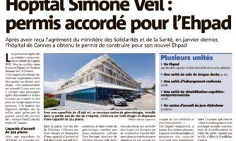 Hôpital Simone Veil : permis accordé pour l'Ehpad