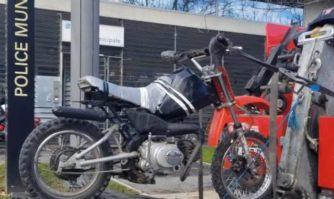Incivisme : nouvelle moto non homologuée saisie par la Police municipale