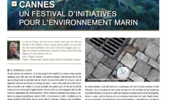 Cannes : un festival d'initiatives pour l'environnement marin