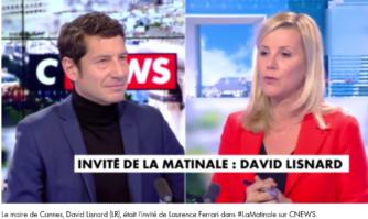 David Lisnard invité de la matinale sur CNews