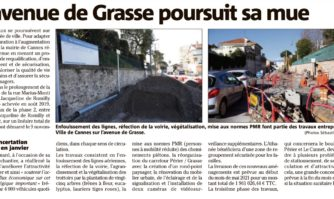 L'avenue de Grasse poursuit sa mue