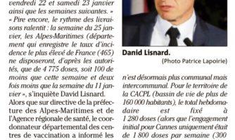 Pénurie de vaccins : le maire de Cannes accable l'Etat