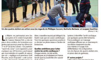 450 lycéens de Carnot sensibilisés à sauver des vies