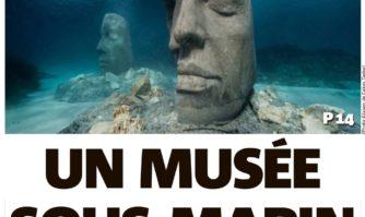 """L'éco-musée sous-marin """"ouvert"""" à Sainte Marguerite"""