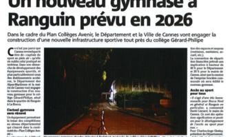 Un nouveau gymnase à Ranguin prévu en 2026