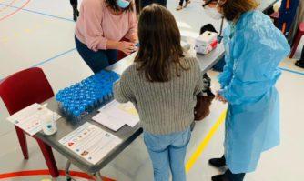 Covid-19 : campagne de tests salivaires à l'école Jacqueline de Romilly