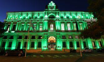 Animation : Cannes se met au vert pour la Saint Patrick