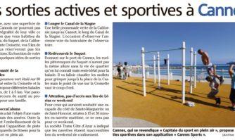 Des activités actives et sportives à Cannes