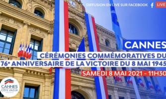 Souvenir : David Lisnard rend hommage aux combattants de la Victoire du 8 mai 1945
