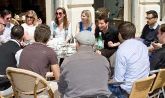 Café avec la Team Lisnard