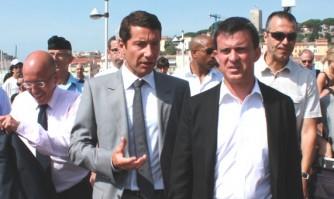 David Lisnard rencontre Manuel Valls à Cannes