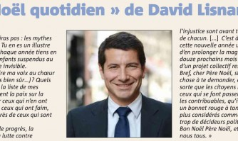 "Le ""noël quotidien"" de David Lisnard"
