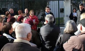 David Lisnard rencontre les habitants du quartier du Petit Juas