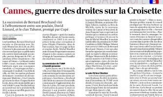 Cannes, guerre des droites sur la Croisette