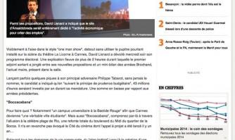 """Cannes : David Lisnard promet une """"ville 7 jours sur 7"""""""